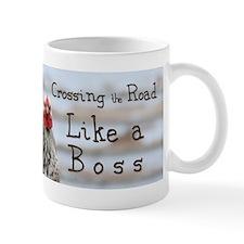 like a boss bumper sticker Mugs