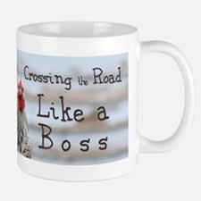 like a boss bumper sticker Mugs