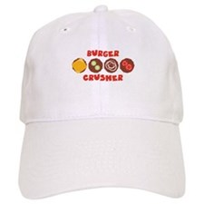BURGER CRUSHER Baseball Baseball Cap