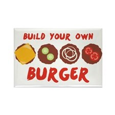Build Your Own BURGER Magnets