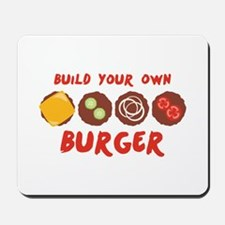 Build Your Own BURGER Mousepad