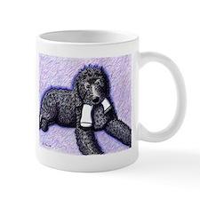 Black Doodle w/ Sock Mug