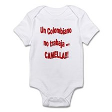Dicho Colombiano camella Infant Bodysuit