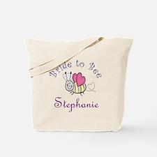 Stephanie Bride to Bee Tote Bag