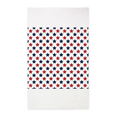 red white and blue stars pattern 3 39 x5 39 area rug by clipartmegamart. Black Bedroom Furniture Sets. Home Design Ideas
