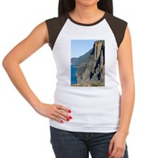 tasman peninsula cliffs Women's Cap Sleeve T-Shirt