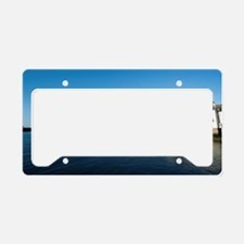 Lifeboat station and Tate Hil License Plate Holder
