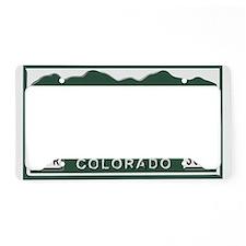 P-Nuckle Samples Colorado License Plate Holder