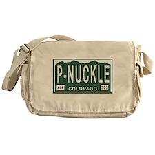 P-Nuckle Samples Colorado Plates Messenger Bag