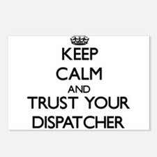 Keep Calm and Trust Your Dispatcher Postcards (Pac
