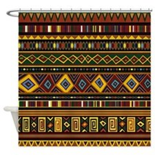 Southwest Weave Shower Curtain