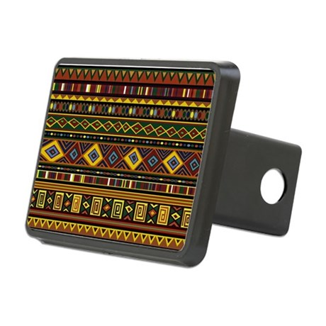 Southwest Weave Rectangular Hitch Cover