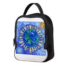 Cute Corgis Neoprene Lunch Bag