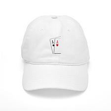 Bad Beat Aces Poker Baseball Cap