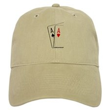 Bad Beat Aces Poker Baseball Cap