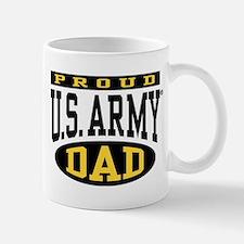 Proud U.S. Army Dad Small Small Mug