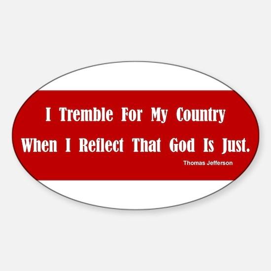 Unique Pro choice humor Sticker (Oval)