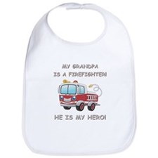 MY GRANDPA IS A FIREFIGHTER Bib