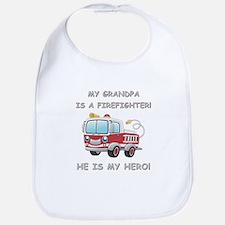 MY GRANDPA IS A FIREFIGHTER Bib