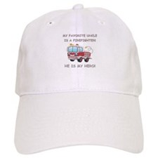MY FAVORITE UNCLE IS A FIREFIGHTER Baseball Cap