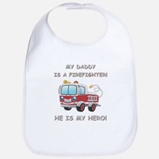 MY DADDY IS A FIREFIGHTER Bib