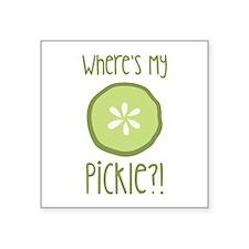 Wheres My Pickle? Sticker