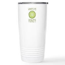Wheres My Pickle? Travel Mug