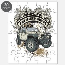 Eat Sleep Drive 4x4 Puzzle