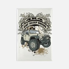 Eat Sleep Drive 4x4 Rectangle Magnet