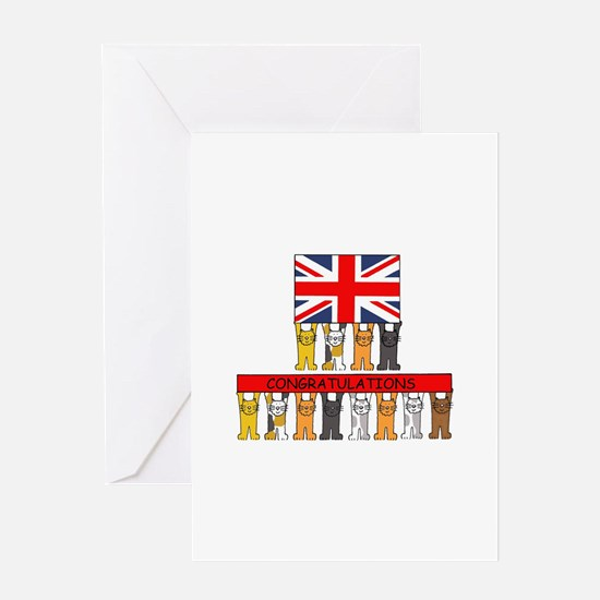 UK Citizenship Congratulations Greeting Cards