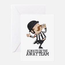 Referee Greeting Card