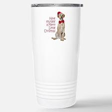 Santa Lab Travel Mug