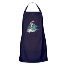 Aqua Under the Sea Apron (dark)