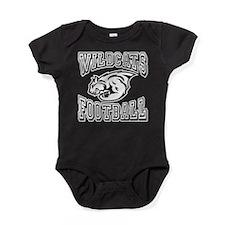 Wildcats Football Baby Bodysuit