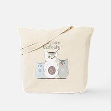 I'm the Mom Cute Owls Tote Bag