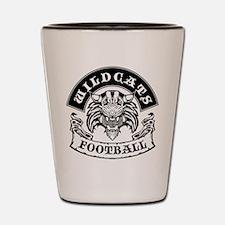 Wildcats Football Shot Glass
