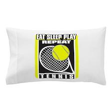Eat Sleep Play Repeat Tennis Pillow Case