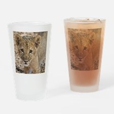 lion cub Drinking Glass