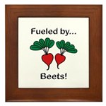 Fueled by Beets Framed Tile