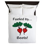 Fueled by Beets Queen Duvet