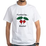 Fueled by Beets White T-Shirt
