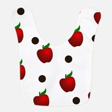 Apple rain pattern Bib