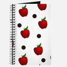 Apple rain pattern Journal