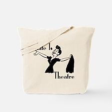 Life Is Theatre Retro Theater Tote Bag