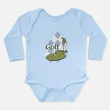 Classic Golf Long Sleeve Infant Bodysuit