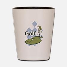 Classic Golf Shot Glass