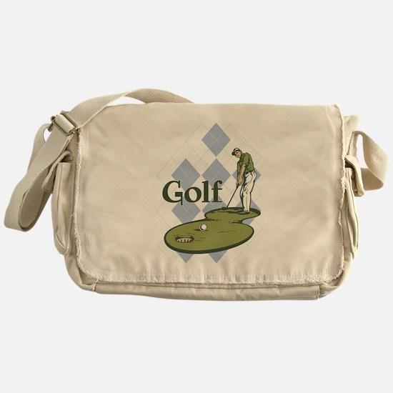 Classic Golf Messenger Bag