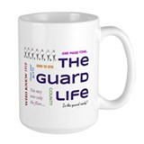 Color guard Large Mugs (15 oz)