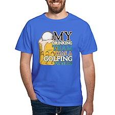 Golf Drinking Team T-Shirt