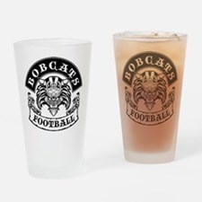 Bobcats Football Drinking Glass